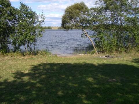 Вид на самое глубокое место озера